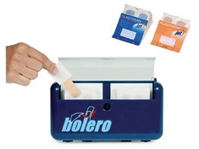 BOLERO DISPENSER PER CEROTTI