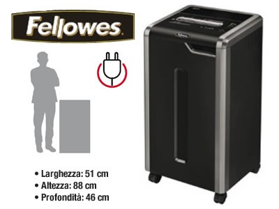 Distruggidocumenti a frammenti Fellowes EF-325I