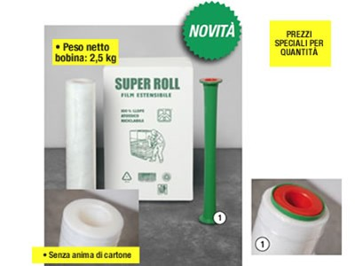 ESTENSIBILE MANUALE TRASPARENTE SUPER ROLL