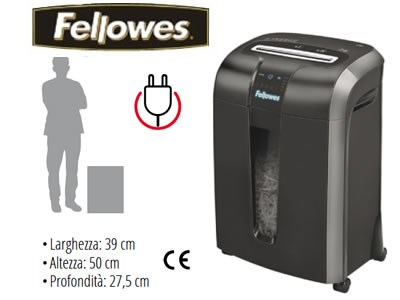 Distruggidocumenti a frammenti Fellowes B-73Ci