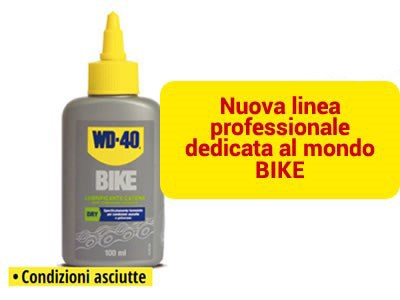 WD 40 BIKE LUBRIFICANTE CATENA ASCIUTTO
