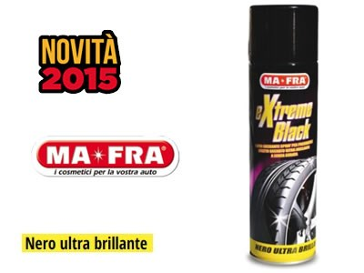 Nero ultrabrillante EXTREME BLACK